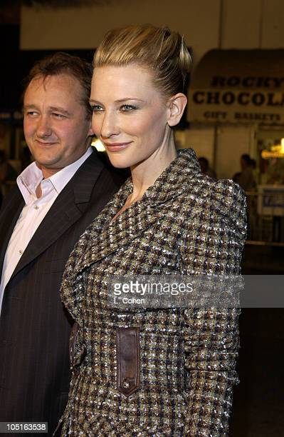 """Andrew Upton and Cate Blanchett during """"Veronica Guerin"""" - Los Angeles Premiere - Red Carpet at The Bruin Theater in Westwood, California, United..."""