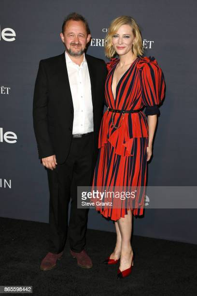 Andrew Upton and honoree Cate Blanchett attend the 3rd Annual InStyle Awards at The Getty Center on October 23 2017 in Los Angeles California