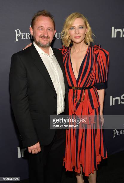 Andrew Upton and honoree Cate Blanchett attend the Third Annual 'InStyle Awards' presented by InStyle at The Getty Center on October 23 2017 in Los...