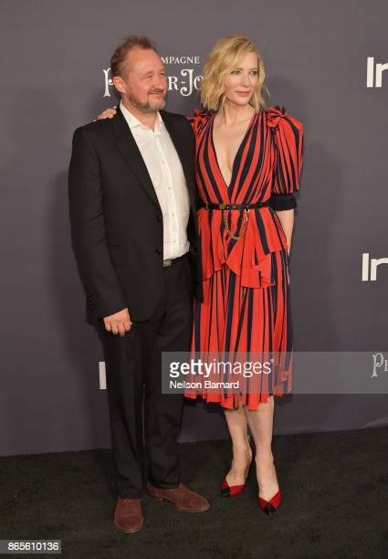 Andrew Upton and Honoree Cate Blanchett attends 3rd Annual InStyle Awards at The Getty Center on October 23 2017 in Los Angeles California
