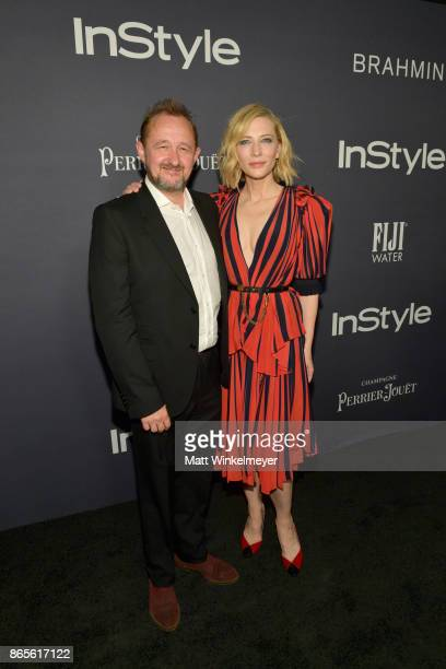 Andrew Upton and honoree Cate Blanchett attends the Third Annual 'InStyle Awards' presented by InStyle at The Getty Center on October 23 2017 in Los...
