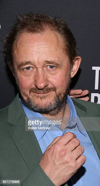 Andrew Upton attends the Broadway Opening Night After Party for 'The Present' at the Bryant Park Grill on January 8 2017 in New York City