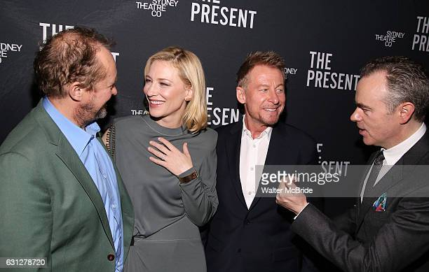 Andrew Upton Cate Blanchett Richard Roxburgh and John Crowley attend the Broadway Opening Night After Party for 'The Present' at the Bryant Park...