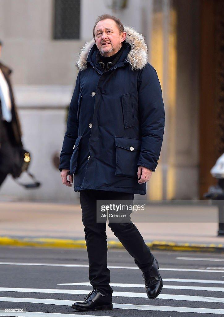 Celebrity Sightings in New York City - January 30, 2017 : News Photo