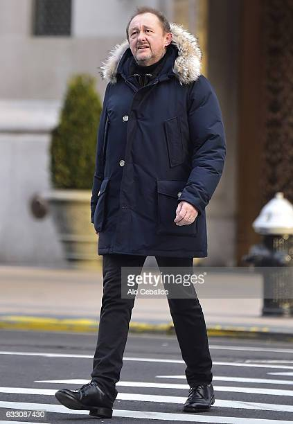 Andrew Upton is seen in Tribeca on January 30 2017 in New York City