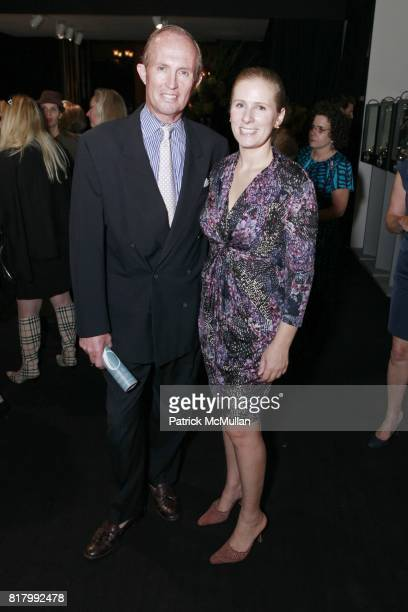 Andrew Vissicchio Alexandra Osipow attend the AVENUE ANTIQUES ART AT THE ARMORY Celebrates With An Opening Night Preview on September 29 2010 in New...