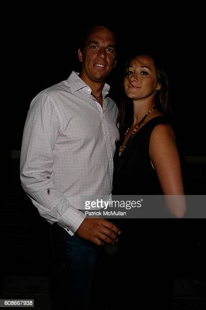 Andrew Vissicchio and Alexandra Osipow attend ALVIN VALLEY party for Artist SARAH ASHLEY LONGSHORE at Alvin Valley's Penthouse on June 20 2007 in New...