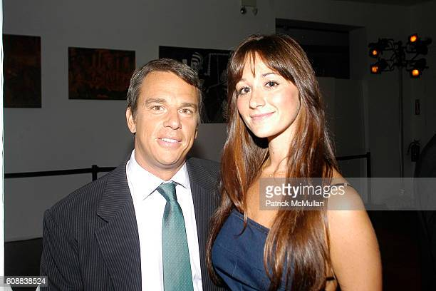 Andrew Vissichio and Alexandra Osipow attend APRIVATECLUBCOM LAUNCH PARTY at Chelsea Art Museum on October 10 2007 in New York City