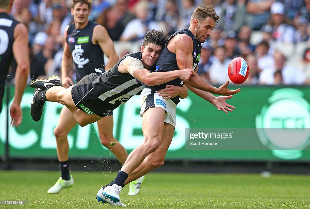 AFL Rd 7 - Collingwood v Carlton