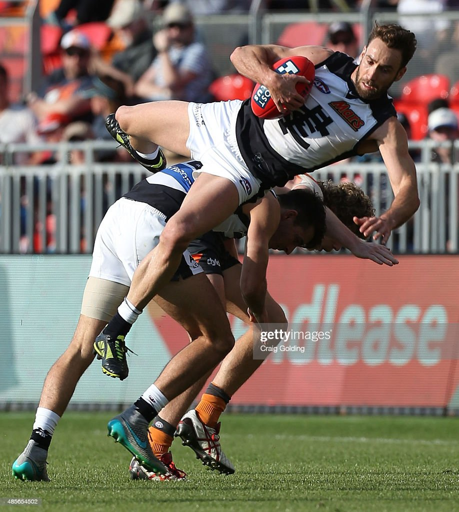 AFL Rd 22 -  GWS Giants v Carlton