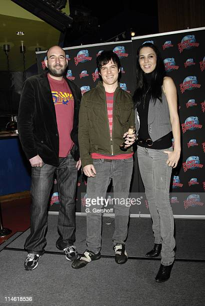 Andrew Waller, director, Eric Dill and Christy Carlson Romano