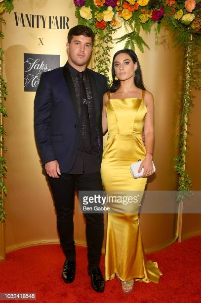 Andrew Warren and guest attend as Vanity Fair and Saks Fifth Avenue celebrate Vanity Fair's BestDressed 2018 at Manhatta on September 12 2018 in New...