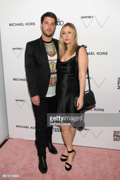 Andrew Warren and Serena Kerrigan attend the Whitney Museum Celebrates The 2018 Annual Gala And Studio Party at The Whitney Museum of American Art on...