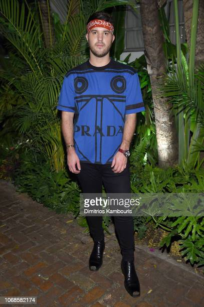 Andrew Warren attends day one of Prada Mode Miami at Freehand Miami on December 4 2018 in Miami Florida