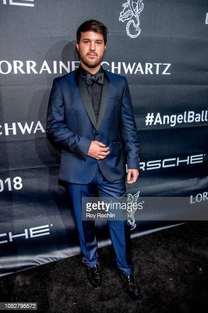 Andrew Warren attends the 2018 Angel Ball at Cipriani Wall Street on October 22 2018 in New York City