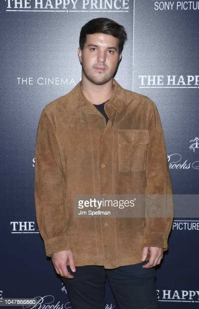 Andrew Warren attends the special screening of Sony Pictures Classics' 'The Happy Prince' hosted by The Cinema Society and Brooks Brothers at iPic...