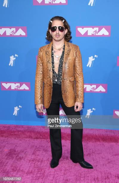 Andrew Watt attends the 2018 MTV Video Music Awards at Radio City Music Hall on August 20 2018 in New York City
