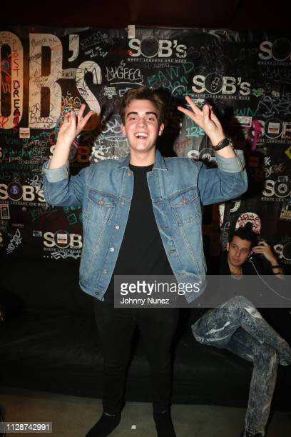 Andrew Weaver attends the NJOMZA concert at SOB's on March 4 2019 in New York City