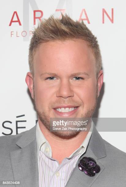 Andrew Werner attends Bella Magazine NYFW Kickoff Party at The Attic Rooftop Lounge on September 6 2017 in New York City