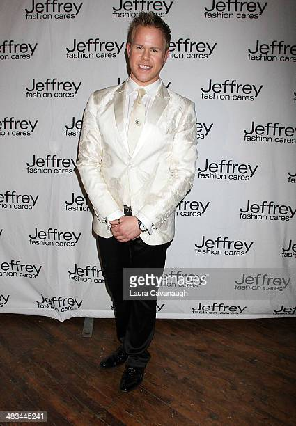 Andrew Werner attends Jeffrey Fashion Cares 2014 at the 69th Regiment Armory on April 8 2014 in New York City