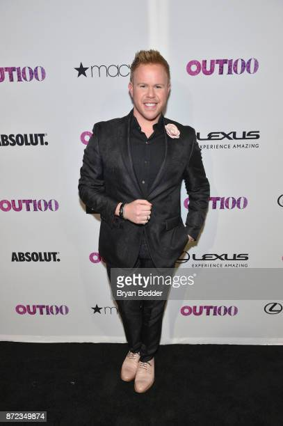 Andrew Werner attends OUT Magazine #OUT100 Event presented by Lexus at the the Altman Building on November 9 2017 in New York City