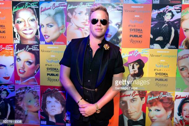 Andrew Werner attends Richard Bernstein 'STARMAKER' Book Launch Party at Public Arts on September 5 2018 in New York City