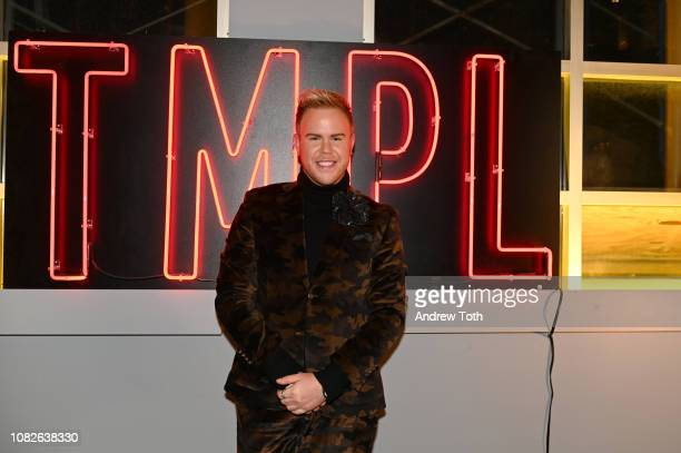 Andrew Werner attends Susanne Bartsch and David Barton's Toy Drive at TMPL West Village on December 14 2018 in New York City