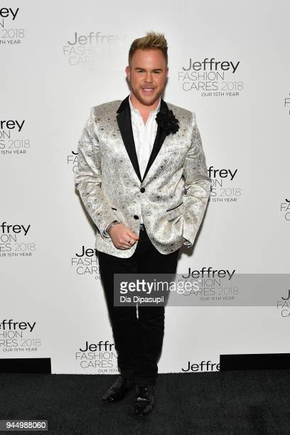 Andrew Werner attends the 15th annual Jeffrey Fashion Cares Fashion Show and Fundraiser at Intrepid SeaAirSpace Museum on April 11 2018 in New York...