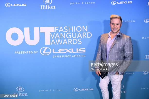 Andrew Werner attends the 2018 OUT Fashion Vanguard Awards at SIR Stage 37 on July 25 2018 in New York City