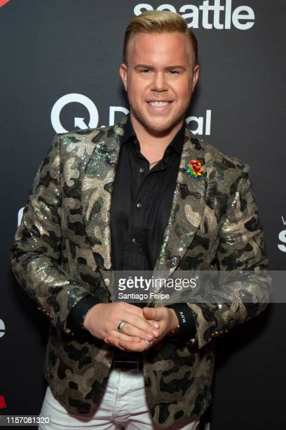 Andrew Werner attends the 2nd Annual Queerty Pride50 event at at Town Stages on June 19 2019 in New York City