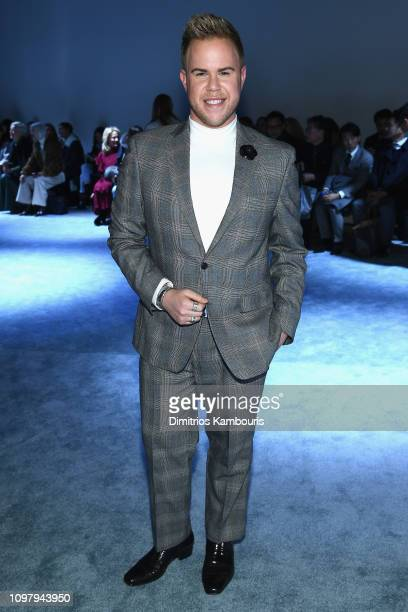 Andrew Werner attends the 31 Phillip Lim Fashion Show during New York Fashion Week at Center 415 on February 11 2019 in New York City