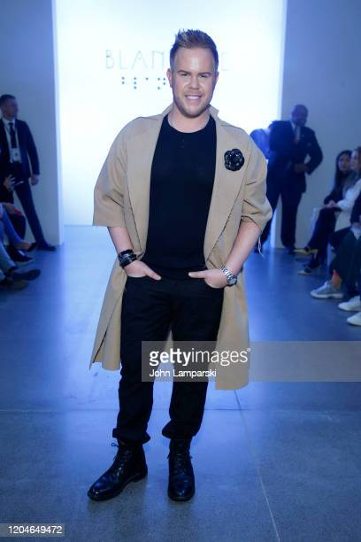 Andrew Werner attends the Blancore fashion show during February 2020 New York Fashion Week The Shows at Gallery II at Spring Studios on February 07...