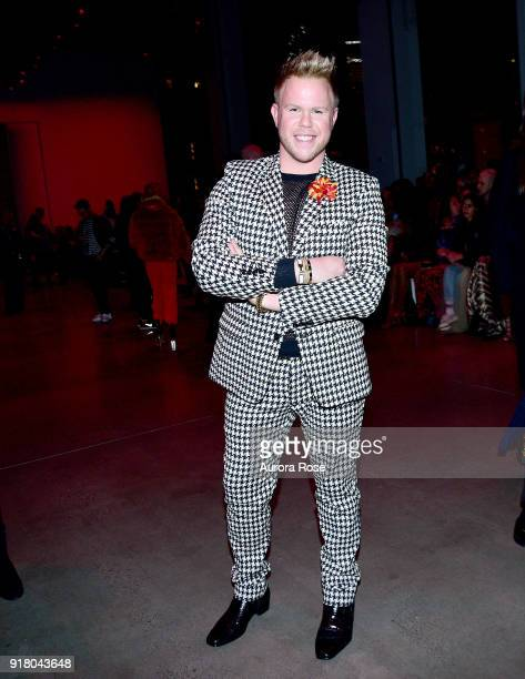 Andrew Werner attends The Blonds Runway Show during New York Fashion Week at Spring Studios on February 13 2018 in New York City