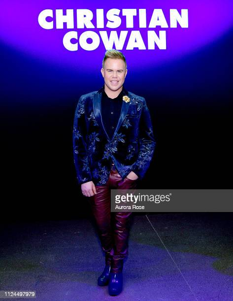 Andrew Werner attends the Christian Cowen Runway Show at Spring Studios on February 12 2019 in New York City