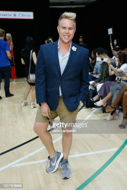 Andrew Werner attends the Laurence Chico front row during New York Fashion Week The Shows on September 6 2018 in New York City