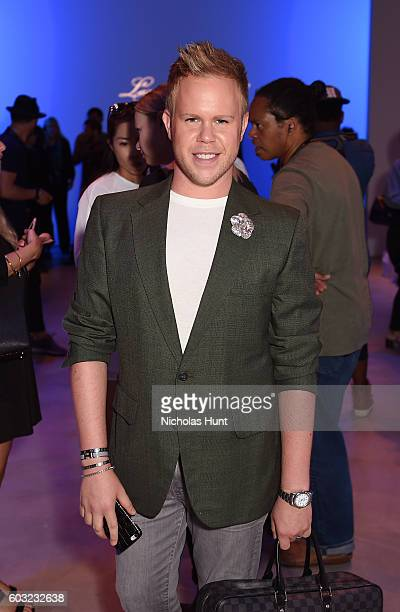 Andrew Werner attends the Leanne Marshall fashion show during New York Fashion Week September 2016 at The Gallery Skylight at Clarkson Sq on...