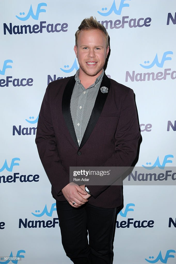 Andrew Werner attends the NameFace.com Launch at No. 8 on January 27, 2016 in New York City.