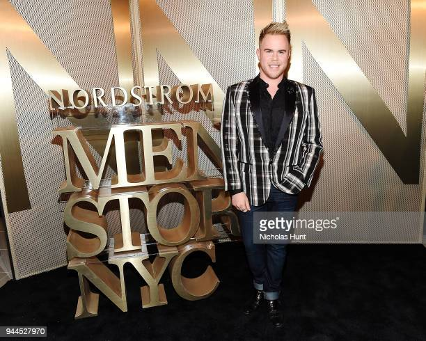 Andrew Werner attends the Nordstrom Men's NYC Store Opening on April 10 2018 in New York City