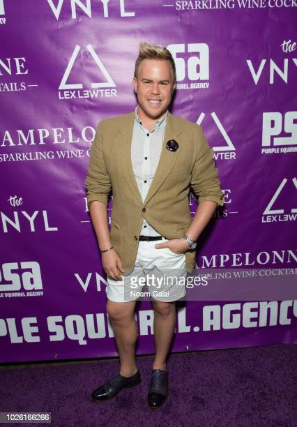 Andrew Werner attends the Purple Squirrel Agency Launch Party on August 29 2018 in New York City