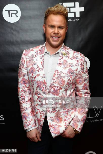 Andrew Werner attends The Real Housewives of New York Season 10 premiere celebration at LDV Hospitality's The Seville produced by Talent Resources on...
