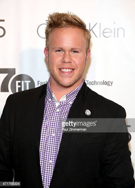 Andrew Werner attends the The Fashion Institute of Technology's 2015 FIT Future Of Fashion Runway Show on April 30 2015 in New York City
