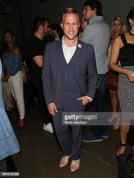 Andrew Werner attends Zang Toi Front Row September 2016 during New York Fashion Week at Pier 59 Studios on September 13 2016 in New York City