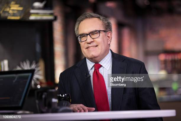 Andrew Wheeler acting administrator of the Environmental Protection Agency smiles during a Bloomberg Technology Television interview in San Francisco...