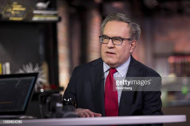 Andrew Wheeler acting administrator of the Environmental Protection Agency speaks during a Bloomberg Technology Television interview in San Francisco...