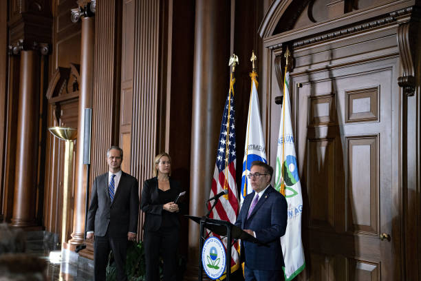 DC: EPA Administrator Andrew Wheeler and DOT Secretary Elaine Chao Deliver Policy Announcemen