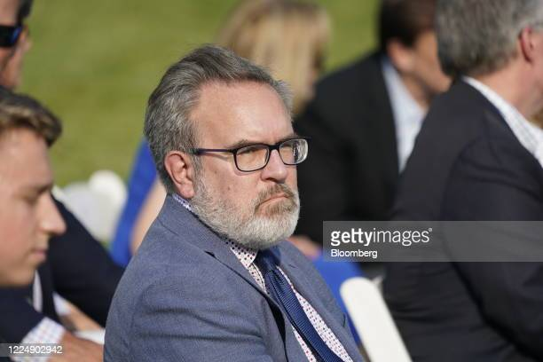 Andrew Wheeler, administrator of the Environmental Protection Agency , attend the Salute to America event on the South Lawn of the White House in...