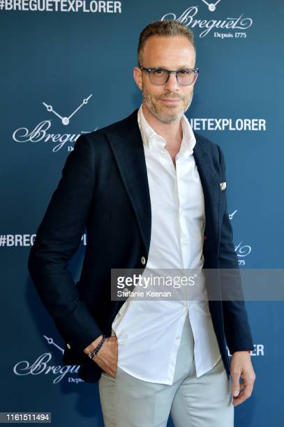 Andrew Whites attends Breguet Marine Collection Launch at Little Beach House Malibu on July 11 2019 in Malibu California