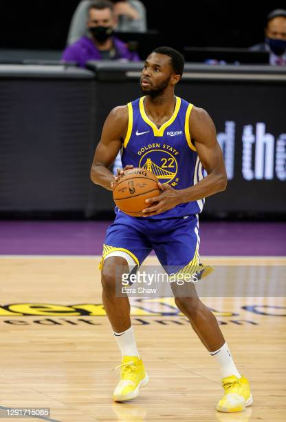 Andrew Wiggins of the Golden State Warriors in action against the Sacramento Kings at Golden 1 Center on December 15, 2020 in Sacramento, California....