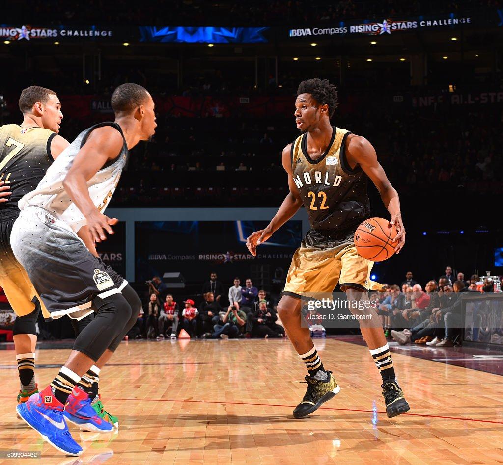 68b40092edb 2016 NBA All-Star BBVA Compass Rookie Rising Stars Challenge : News Photo