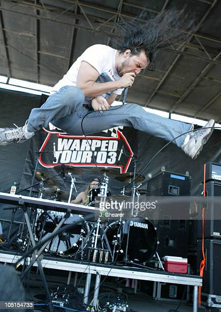 Andrew WK during 2003 Vans Warped Tour San Francisco at Piers 30/32 in San Francisco California United States